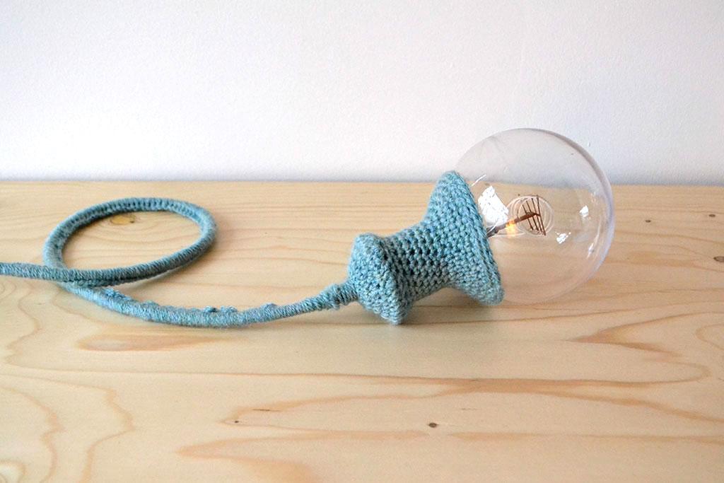 Diy Hoesjelampenkapje Haken Voor Een Lamp Bij Boefmop